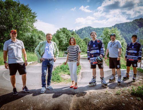 Neue Pumptrack-Anlage in Leoben eröffnet!