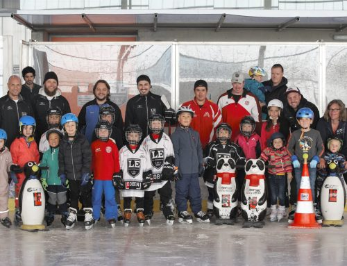 Erfolgreicher Start der Eislaufschule!